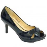 Ladies Navy Blue Shoe