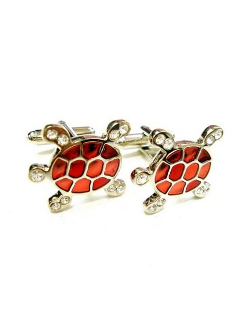Red Turtle Cufflinks